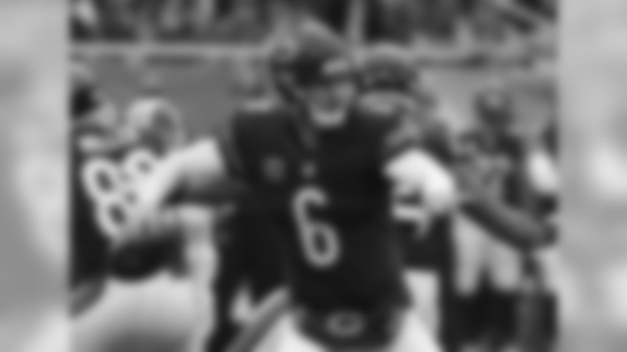 Cutler's quarterback rating of 92.2 this season is the highest rating in his 10 seasons in the NFL. The Bears quarterback has thrown for 16 touchdowns and has seven interceptions this season.