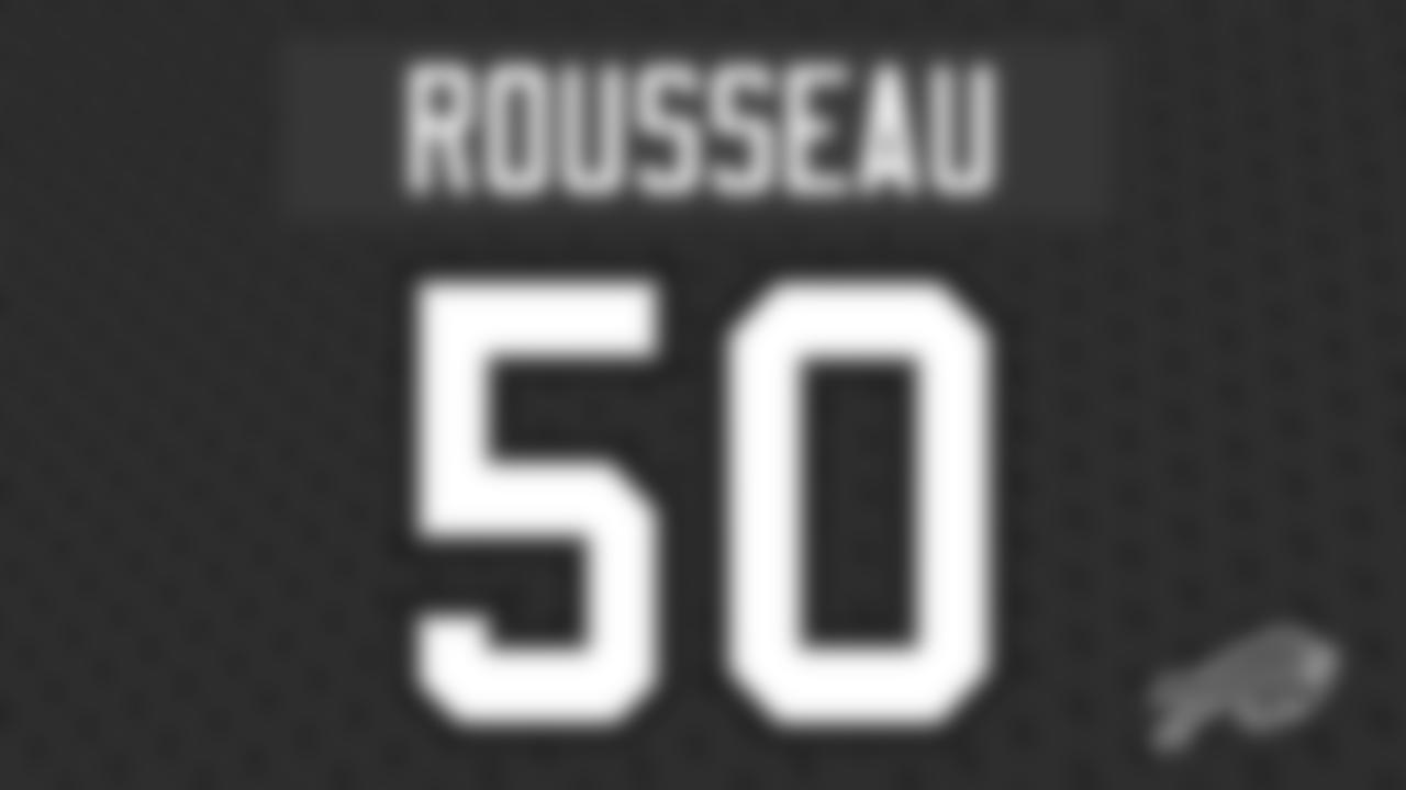 Defensive end Greg Rousseau