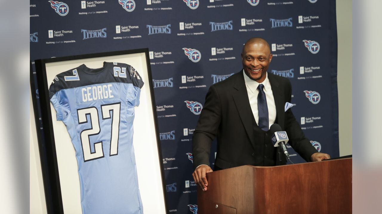 new arrival 920a2 0ddd5 Eddie George: Jersey Retirement Special Because It's With ...