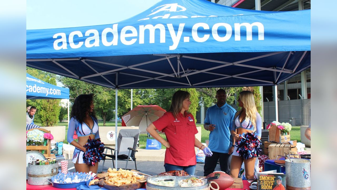 Titans Tailgate with Academy Sports + Outdoors