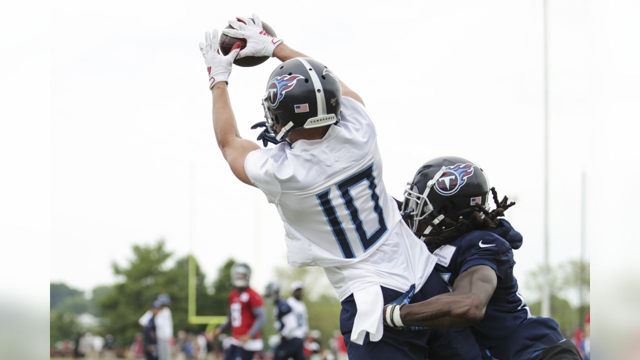 detailed look 2c599 4d3a2 Observations from Tuesday's Titans OTA