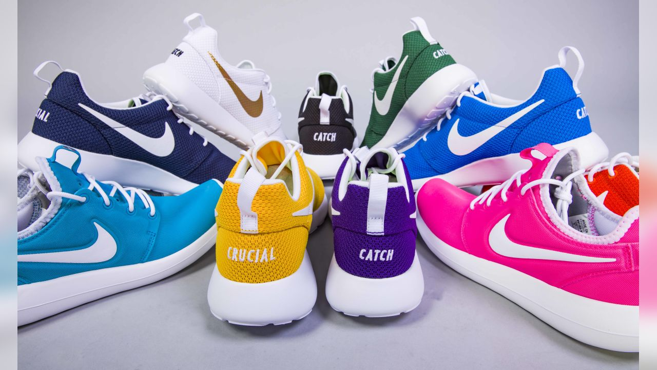c1586752 Vikings Crucial Catch Shoes Unite Staff in Fight Against Cancer