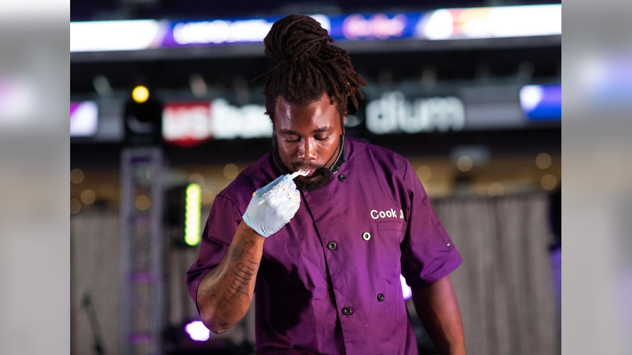 Dalvin Cook Spices Up 1st Iron Viking Contest At Annual