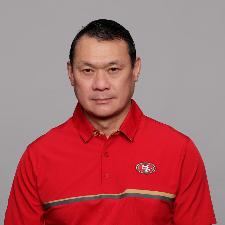 This is a 2017 photo of Stan Kwan of the San Francisco 49ers NFL football team. This image reflects the 2017 active roster as of Monday, March 13, 2017 when this image was taken. (AP Photo)