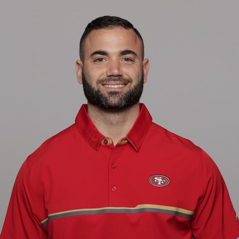 This is a 2017 photo of Dustin Perry of the San Francisco 49ers NFL football team. This image reflects the 2017 active roster as of Monday, March 13, 2017 when this image was taken. (AP Photo)