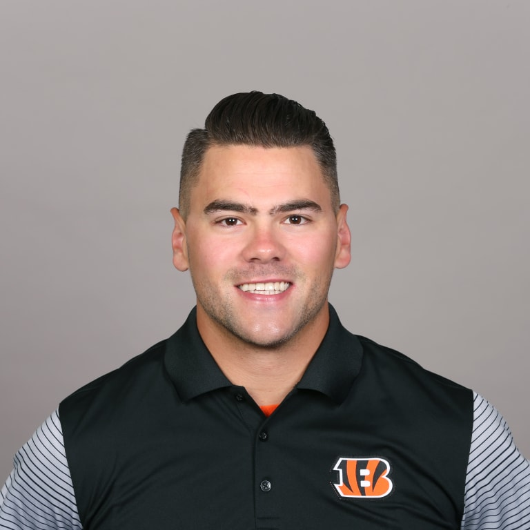 This is a 2017 photo of Brayden Coombs of the Cincinnati Bengals NFL football team. This image reflects the Cincinnati Bengals active roster as of Tuesday, June 13, 2017 when this image was taken. (AP Photo)