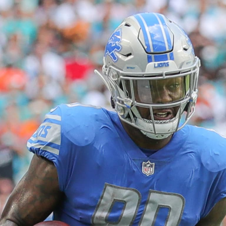 72b1abfb191dfe Detroit Lions tight end Michael Roberts (80) during a NFL football game  against the