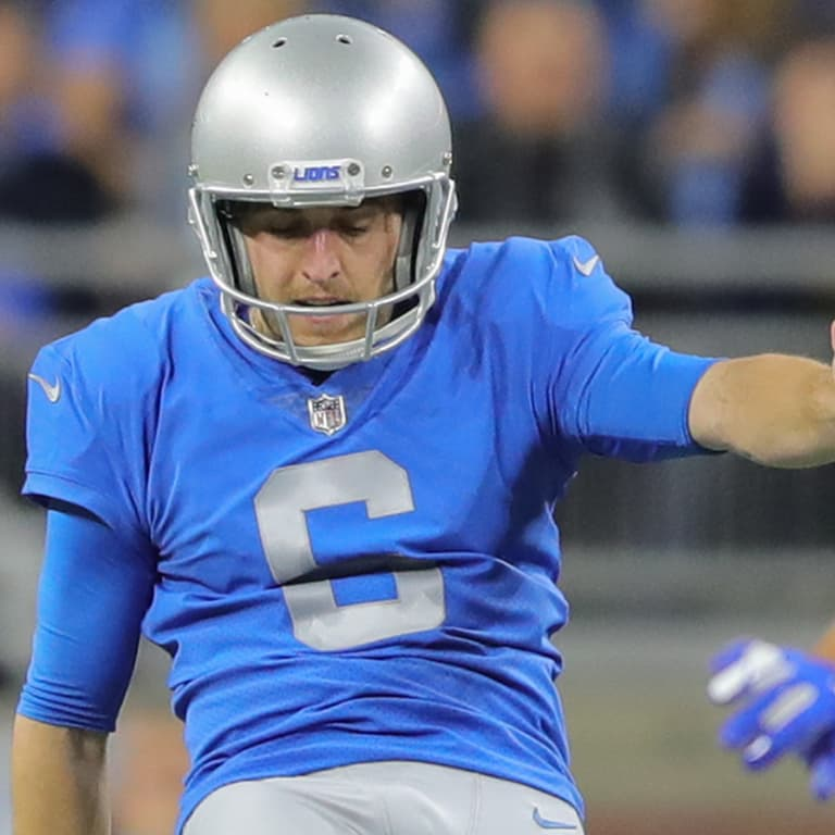 Detroit Lions punter Sam Martin (6) during a NFL football game against the  Chicago 29202dc0c