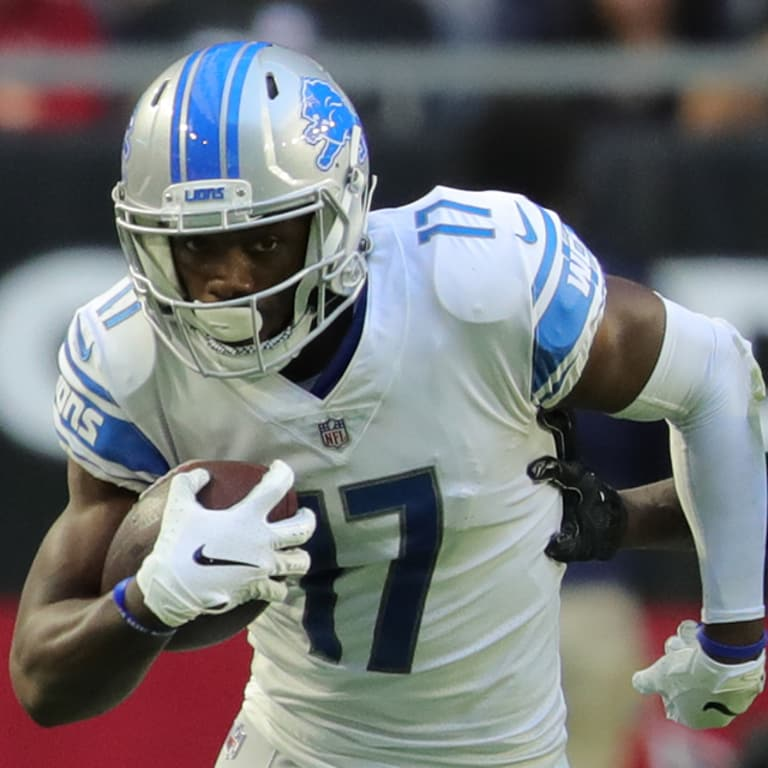 b4f3e3fa46853b Detroit Lions wide receiver Andy Jones (17) during a NFL football game  against the