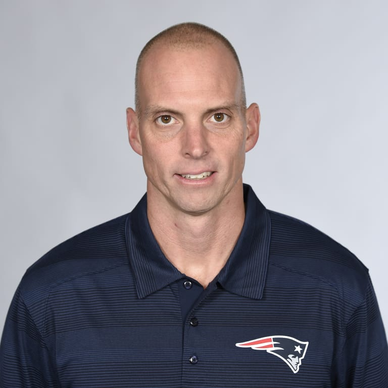 This is a 2016 photo of Chad O'Shea of the New England Patriots NFL football team. This image reflects the New England Patriots active roster as of May 25, 2016 when this image was taken. (AP Photo)