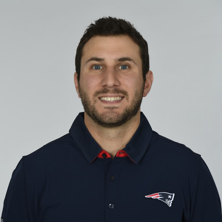 This is a 2017 photo of Nick Caley of the New England Patriots NFL football team.  This image reflects the New England Patriots active roster as of June 5, 2017 when this image was taken. (AP Photo)