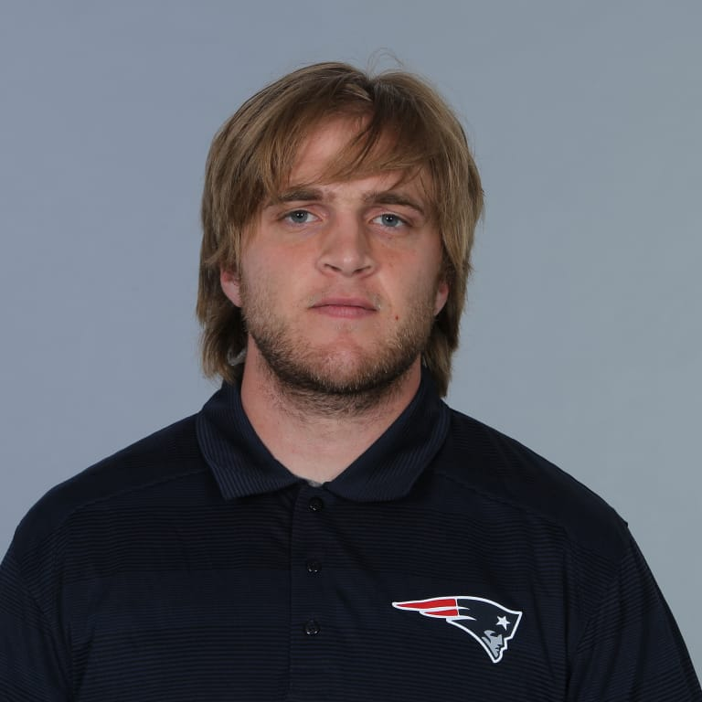 This is a 2014 photo of Steven Belichick  of the New England Patriots NFL football team.  This image reflects the New England Patriots active roster as of June 11, 2014 when this image was taken.
