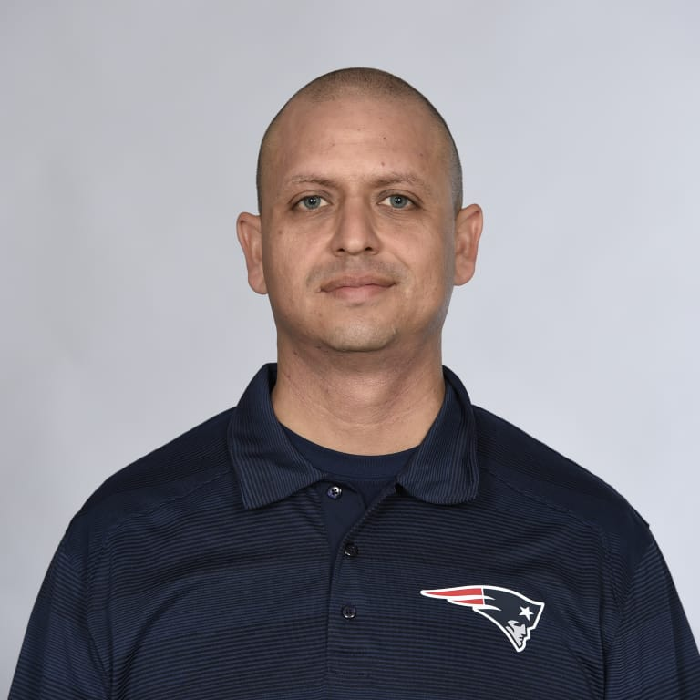 This is a 2016 photo of Moses Cabrera of the New England Patriots NFL football team. This image reflects the New England Patriots active roster as of May 25, 2016 when this image was taken. (AP Photo)