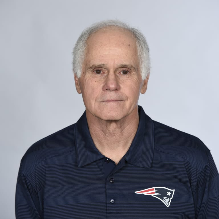 This is a 2016 photo of Dante Scarnecchia of the New England Patriots NFL football team. This image reflects the New England Patriots active roster as of May 25, 2016 when this image was taken. (AP Photo)