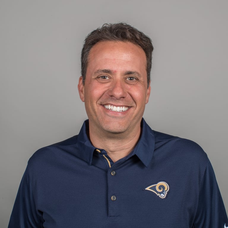 Jedd Fisch of the Los Angeles Rams headshot, Thursday, April 26, 2018, in Thousand Oaks, CA. (Jeff Lewis/Rams)