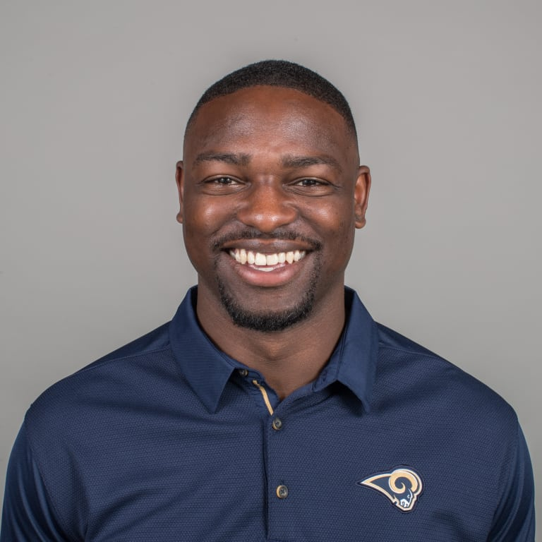 Matt Daniels of the Los Angeles Rams headshot, Thursday, April 26, 2018, in Thousand Oaks, CA. (Jeff Lewis/Rams)