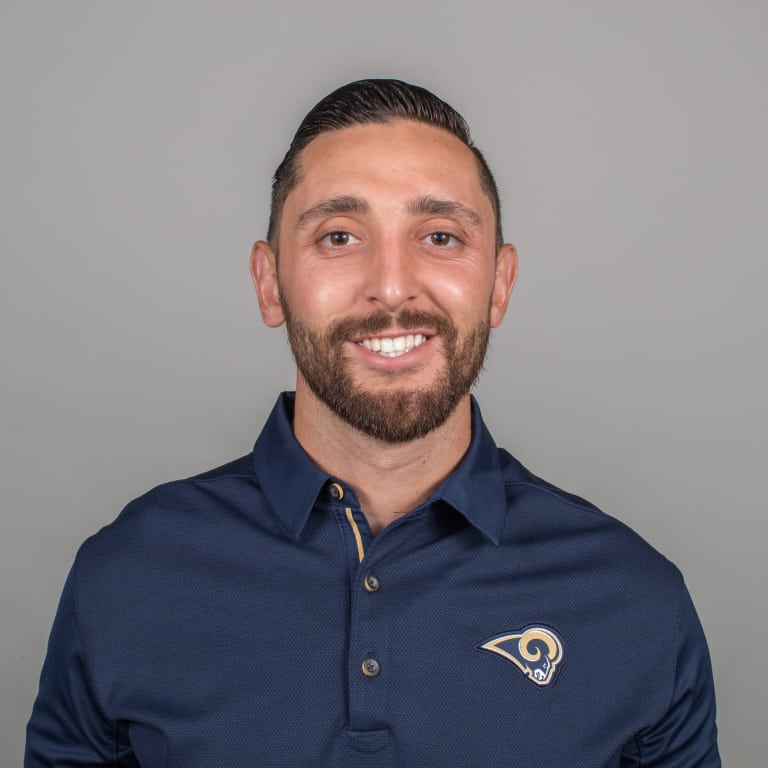 Fernando Noriega of the Los Angeles Rams headshot, Thursday, April 26, 2018, in Thousand Oaks, CA. (Jeff Lewis/Rams)
