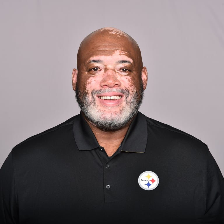 This is a 2018 photo of Karl Dunbar of the Pittsburgh Steelers NFL football team. This image reflects the Steelers active roster as of February 12th when this image was taken. (AP Photo)