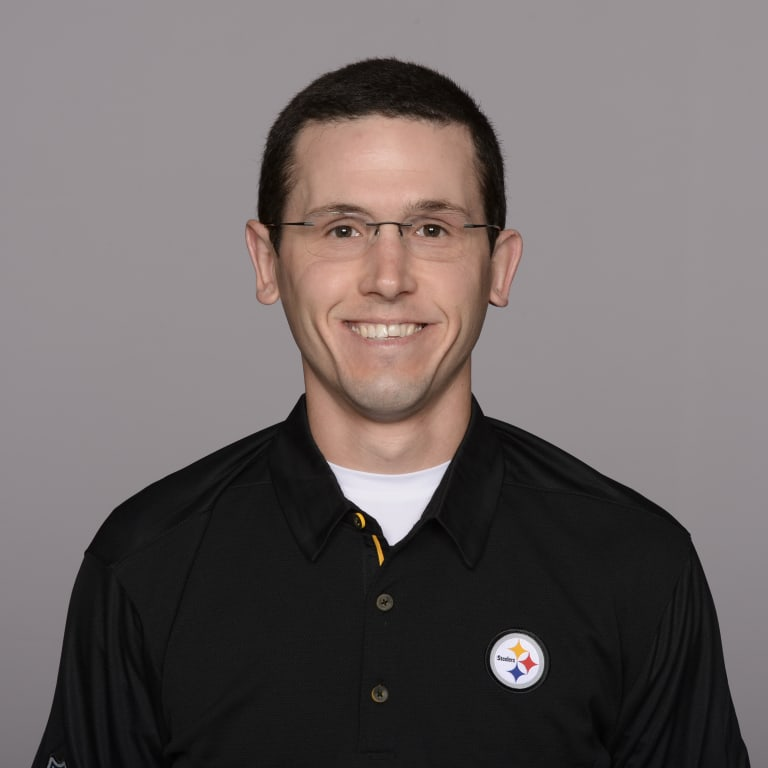 This is a 2018 photo of Matt Symmes of the Pittsburgh Steelers NFL football team. This image reflects the Steelers active roster as of May 31st when this image was taken. (AP Photo)