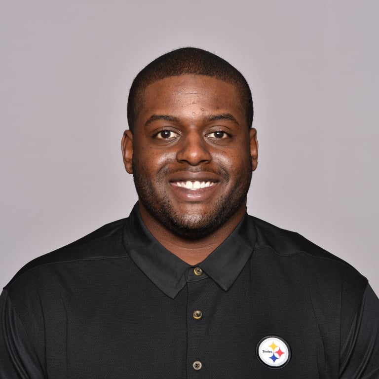 This is a 2018 photo of Denzel Martin of the Pittsburgh Steelers NFL football team. This image reflects the Steelers active roster as of June 5th when this image was taken. (AP Photo)