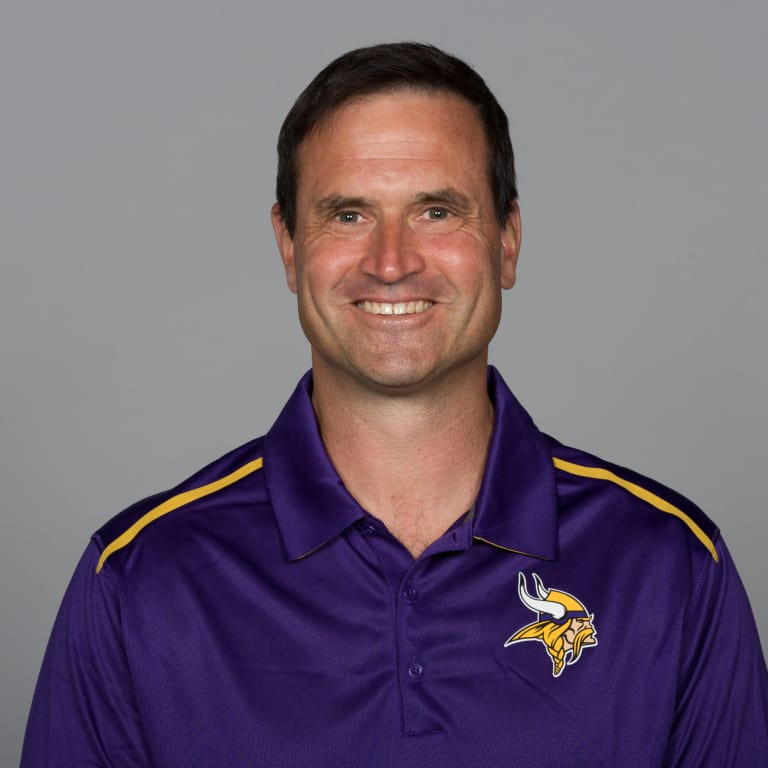 This is a photo of Mike Priefer of the Minnesota Vikings NFL football team. This image reflects the Minnesota Vikings active roster as of Monday, June 12, 2017. (AP Photo)