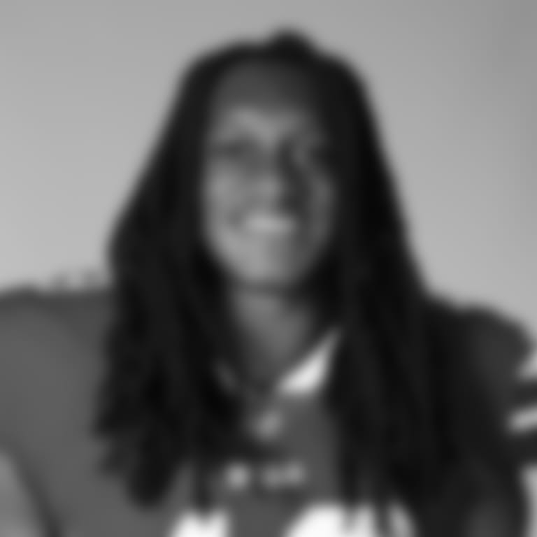 This is a 2020 photo of Tremaine Edmunds of the Buffalo Bills NFL football team. This image reflects the Buffalo Bills active roster as of August 1, 2020 when this image was taken.  (AP Photo)