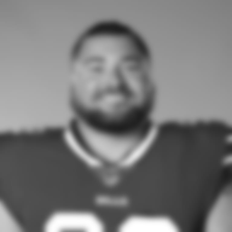 This is a 2020 photo of Harrison Phillips of the Buffalo Bills NFL football team. This image reflects the Buffalo Bills active roster as of July 28, 2020 when this image was taken.  (AP Photo)