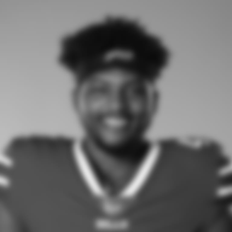 This is a 2020 photo of Reggie Gilliam of the Buffalo Bills NFL football team. This image reflects the Buffalo Bills active roster as of July 26, 2020 when this image was taken.  (AP Photo)