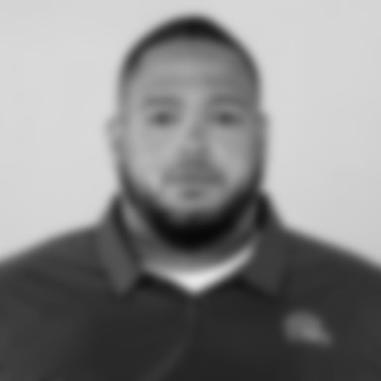 This is a 2021 photo of Jonathan Decoster of the Cleveland Browns NFL football team. This image reflects the Cleveland Browns active roster as of April 14, 2021 when this image was taken.