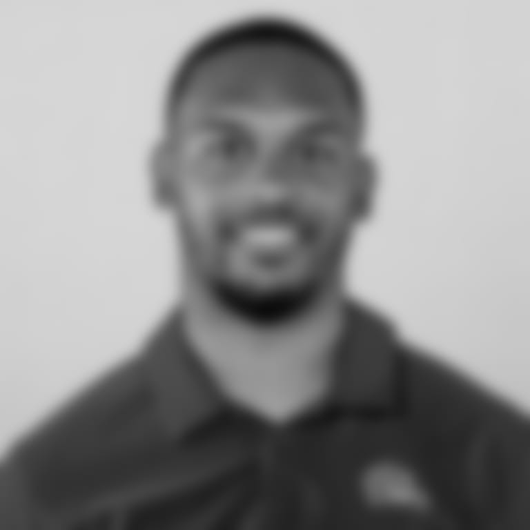 This is a 2021 photo of Ashton Grant of the Cleveland Browns NFL football team. This image reflects the Cleveland Browns active roster as of April 14, 2021 when this image was taken.