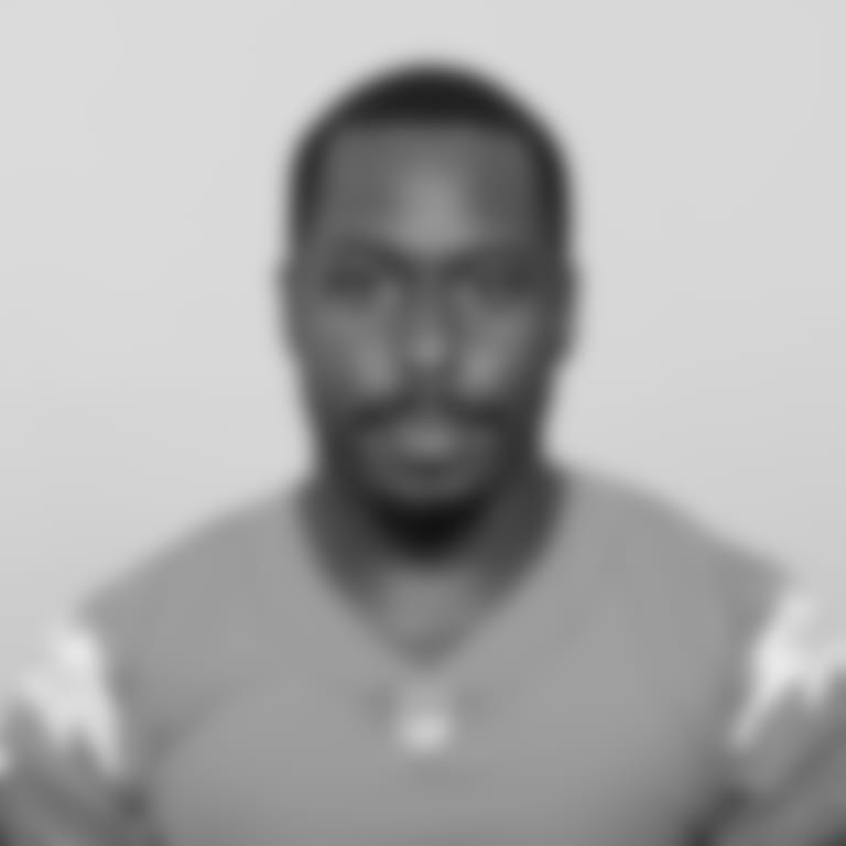 This is a 2020 photo of Square Damion of the Los Angeles Chargers NFL football team. This image reflects the Los Angeles Chargers active roster as of Saturday, August 1, 2020 when this image was taken. (AP Photo)