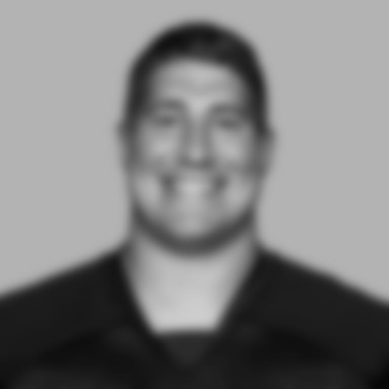 This is a 2020 photo of center Alex Mack #51 of the Atlanta Falcons NFL football team.  This image reflects the Atlanta Falcons active roster as of August 10, 2020 when this image was taken.  (AP Photo)