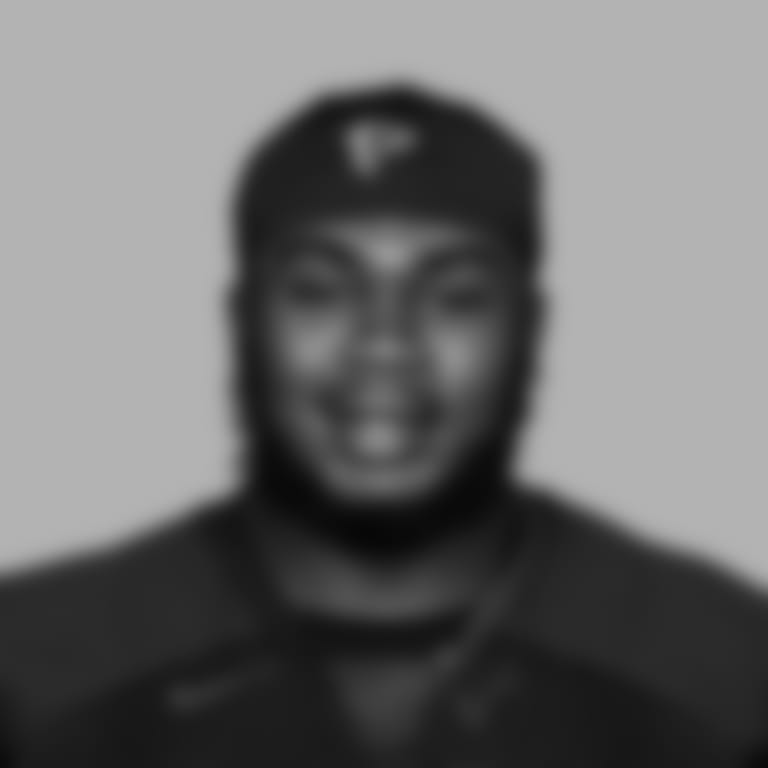 This is a 2020 photo of defensive tackle Grady Jarrett #97 of the Atlanta Falcons NFL football team.  This image reflects the Atlanta Falcons active roster as of August 11, 2020 when this image was taken.  (AP Photo)