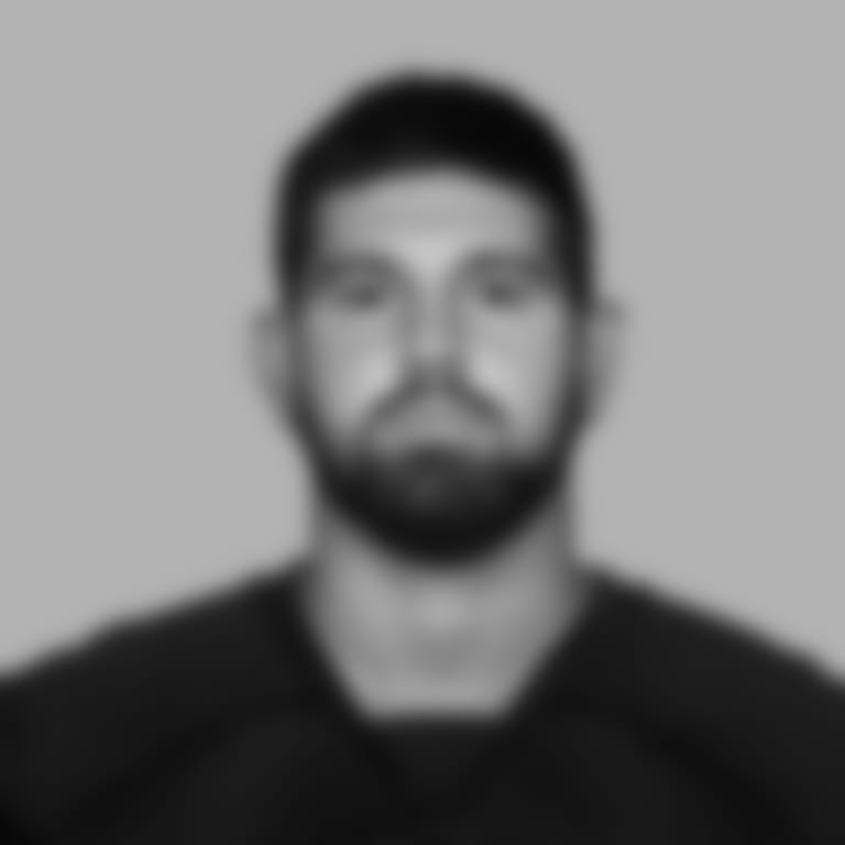 This is a 2020 photo of center Matt Hennessy #61 of the Atlanta Falcons NFL football team.  This image reflects the Atlanta Falcons active roster as of August 9, 2020 when this image was taken.  (AP Photo)
