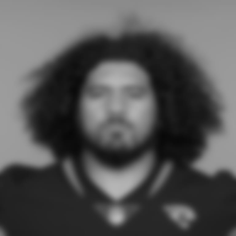 This is a 2021 photo of Jay Tufele of the Jacksonville Jaguars NFL football team. This image reflects the Jacksonville Jaguars active roster as of Wednesday, June 9, 2021 when this image was taken. (AP Photo)