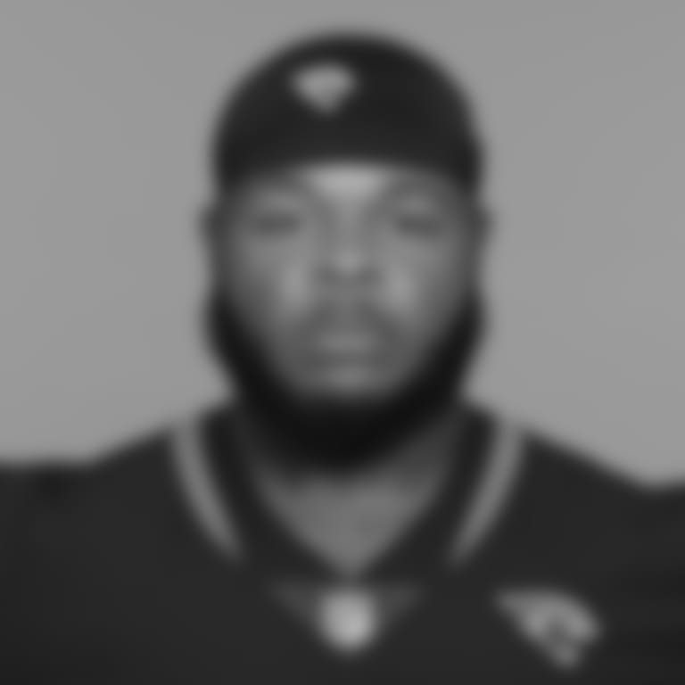 This is a 2021 photo of Jawaan Taylor of the Jacksonville Jaguars NFL football team. This image reflects the Jacksonville Jaguars active roster as of Wednesday, June 9, 2021 when this image was taken. (AP Photo)