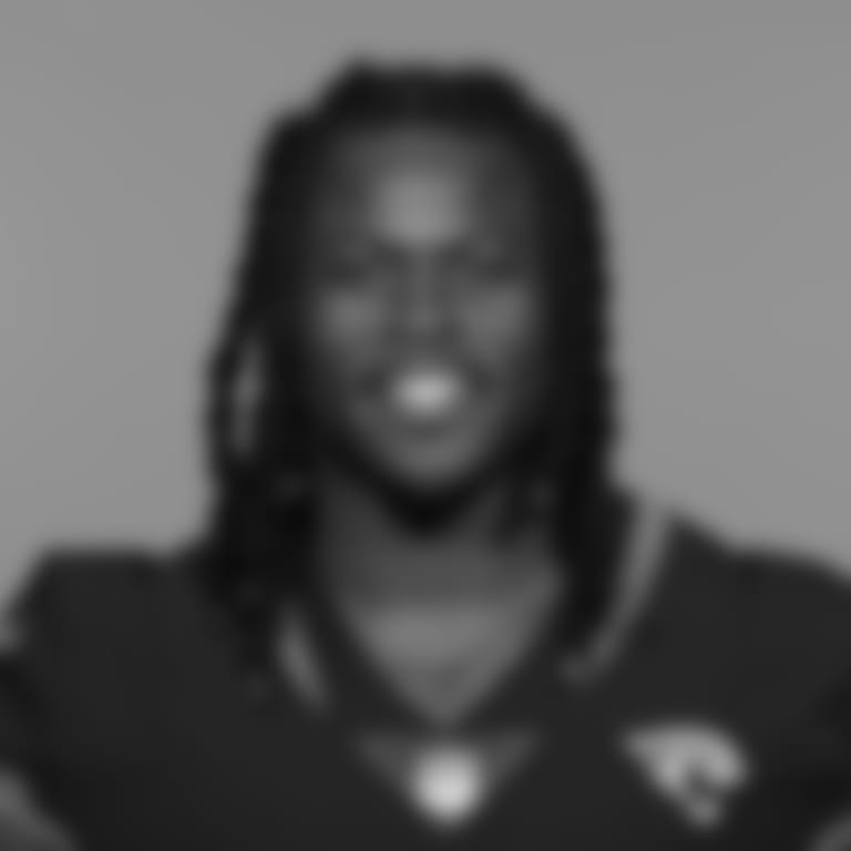 This is a 2021 photo of Dare Ogunbowale of the Jacksonville Jaguars NFL football team. This image reflects the Jacksonville Jaguars active roster as of Wednesday, June 9, 2021 when this image was taken. (AP Photo)