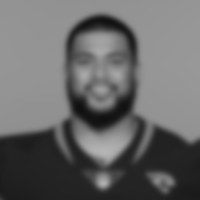 This is a 2021 photo of Daniel Ukuale of the Jacksonville Jaguars NFL football team. This image reflects the Jacksonville Jaguars active roster as of Wednesday, June 9, 2021 when this image was taken. (AP Photo)