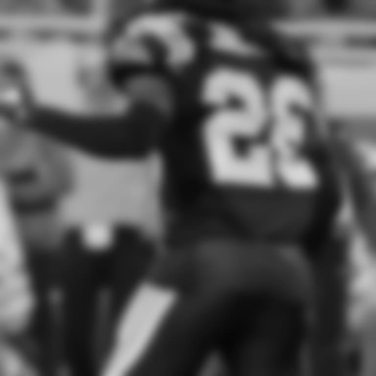 Detroit Lions kicker Matt Prater (5) during a NFL football game against the Carolina Panthers on Sunday, Nov. 18, 2018 in Detroit. (Detroit Lions via AP).