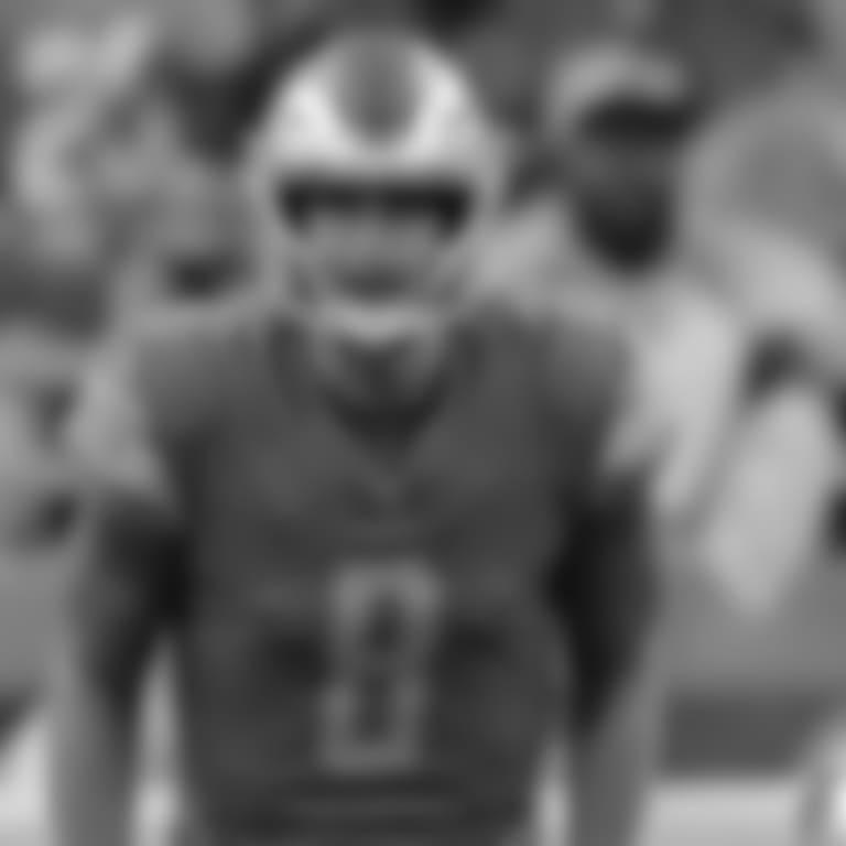 Detroit Lions quarterback Matt Cassel (8) during a NFL football game against the New York Jets on Monday, Sept. 10, 2018 in Detroit. (Detroit Lions via AP).