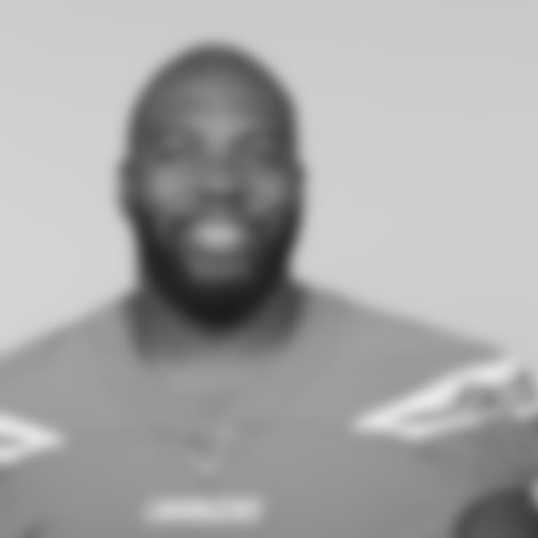 This is a 2019 photo of Russell Okung of the Los Angeles Chargers NFL football team. This image reflects the Los Angeles Chargers active roster as of Monday, June 10, 2019 when this image was taken. (AP Photo)