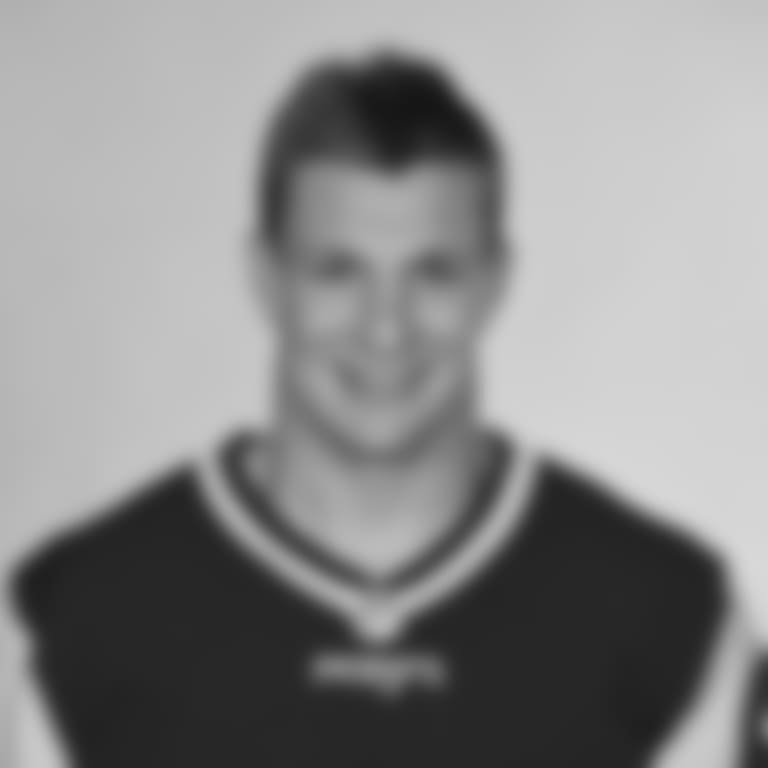 This is a 2016 photo of Rob Gronkowski of the New England Patriots NFL football team. This image reflects the New England Patriots active roster as of May 25, 2016 when this image was taken. (AP Photo)