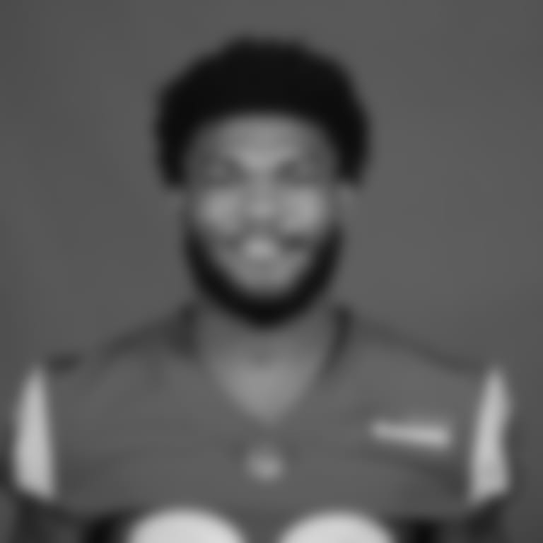 This is a 2020 photo of Cam Akers of the Los Angeles Rams NFL football team.  This image reflects the Los Angeles Rams active roster as of August 8th, 2020 when this image was taken. (Los Angeles Rams)