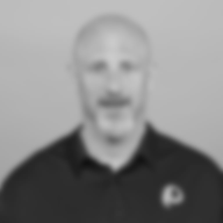 This is a 2019 photo of Jim Hostler of the Carolina Panthers NFL football team. This image reflects the Carolina Panthers active roster as of Tuesday, April 23, 2019 when this image was taken. (AP Photo)