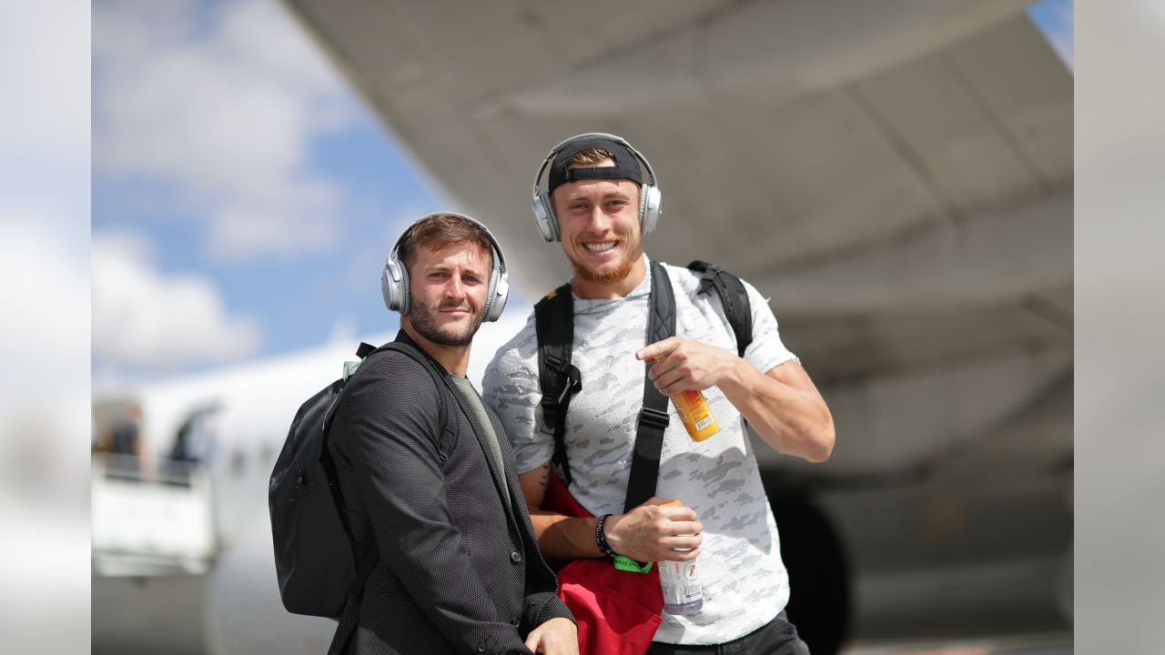 WR Trent Taylor and TE George Kittle