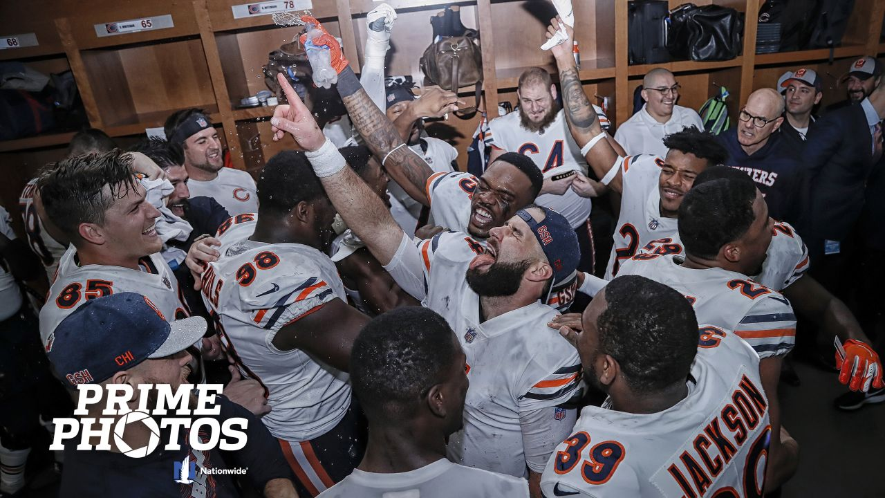 Chicago Bears take on the Detroit Lions, Thursday, November 22, 2018, in Detroit, Michigan.