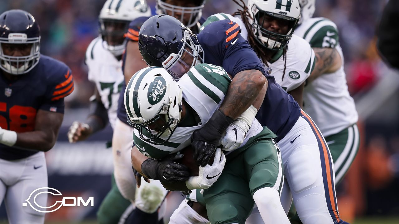 Chicago Bears take on the New York Jets, Sunday, October 28, 2018, in Chicago, Illinois.
