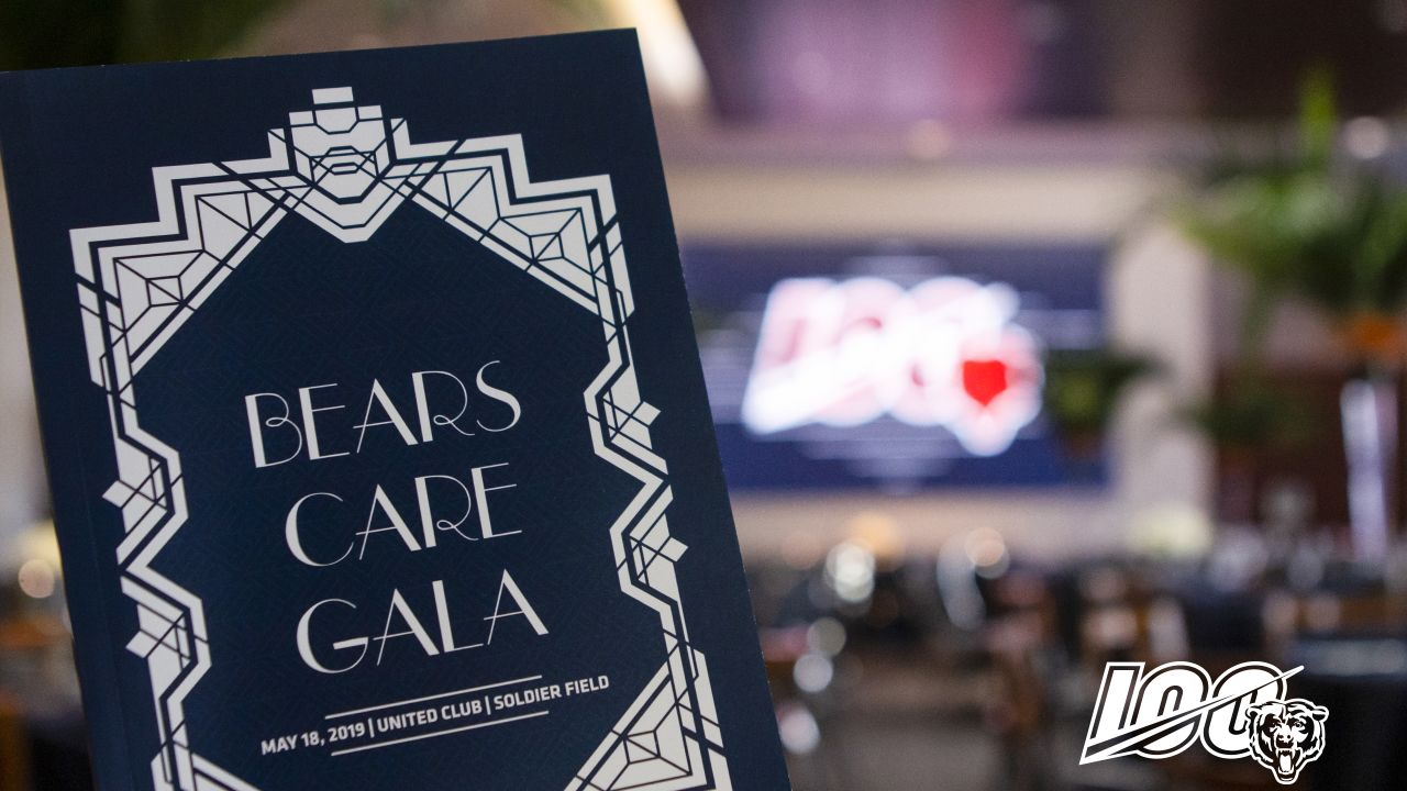 The Chicago Bears host their annual Bears Care Gala at Soldier Field, Saturday, May 18, 2019, in Chicago, Illinois.