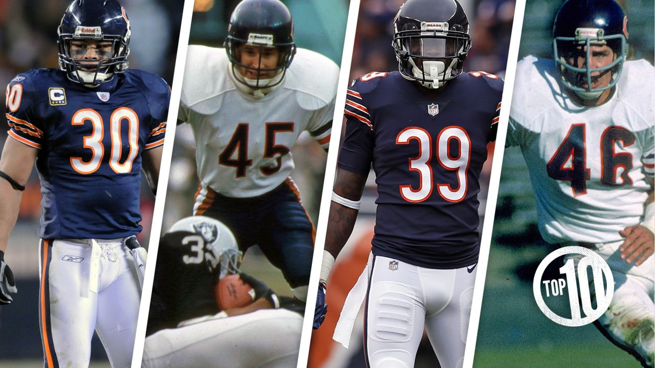 (10) Legacy panel: Safeties  Former stars Gary Fencik, Doug Plank and Mike Brown will join 2018 first-team All Pro Eddie Jackson to discuss the hard hits they've delivered and the records they've broken playing safety for the Bears from 2:15-3:15 p.m. Saturday.
