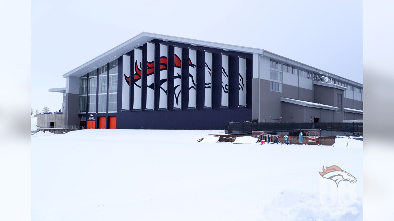Pat Bowlen Fieldhouse during organized team activities at UCHealth Training Center in Centennial, CO, May 21, 2019.Photo by Gabriel Christus